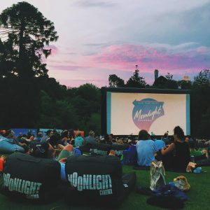 Moonlight Cinema on Botanical Gardens